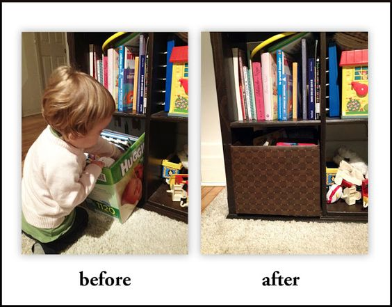 Oh boy, another upcycle!: DIY: fun with contact paper and a diaper box