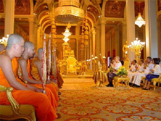 Phòng Khánh Tiết - nơi tổ chức những nghi lễ của hoàng gia