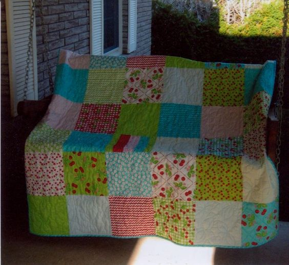 Layer Cake Quilt Missouri Star : oh cherry oh layer cake from Moda quilt Quilts I ve Made ...