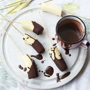 Chocolate-Covered Banana Fudgesicles