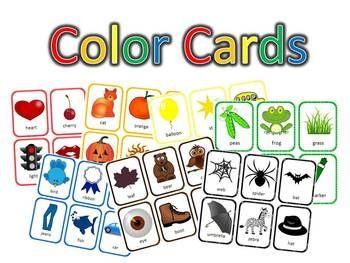 Emergent Color Readers 40 page FREEBIE printables