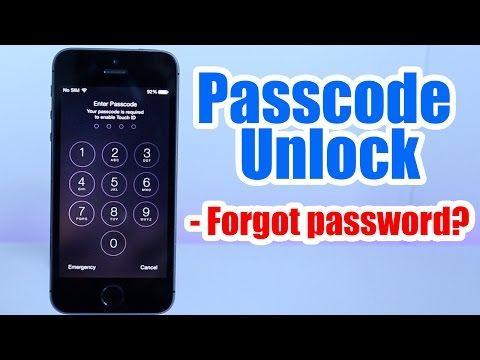 Passcode Unlock Iphone 5 5s 5c 6 6 Plus 4s 4 Forgot Passcode Iphone Disabled Any Ios Youtube Unlock Iphone Unlock Iphone 5 Cracked Iphone