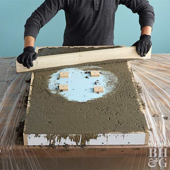 How To Make A Concrete Vanity Top Diy Concrete Countertops
