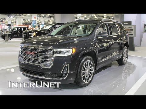 2020 Gmc Acadia Denali Awd Suv With 3 Row Seating Youtube Gmc Suv Suv Gmc
