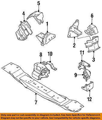 Ad eBay) MITSUBISHI OEM 97-99 Montero Sport-Engine Motor Mount Torque Strut  MB581856   Things to sell, Mitsubishi, The struts   97 Montero Sport Engine Diagram      Pinterest