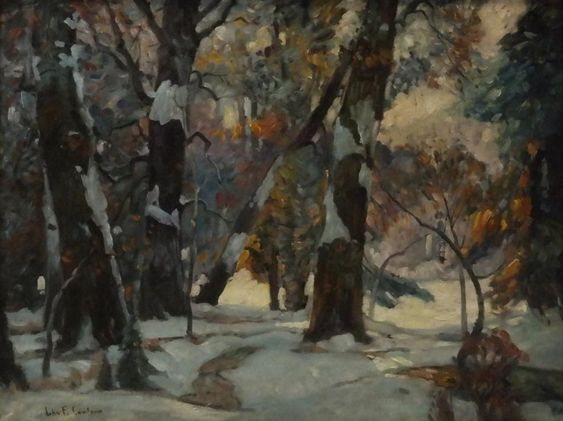"""""""Winter's Glow by John f. Carlson"""