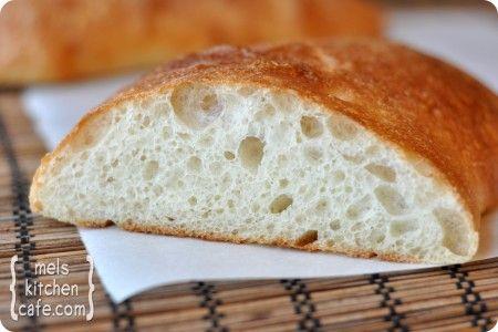 Homemad Ciabatta Bread