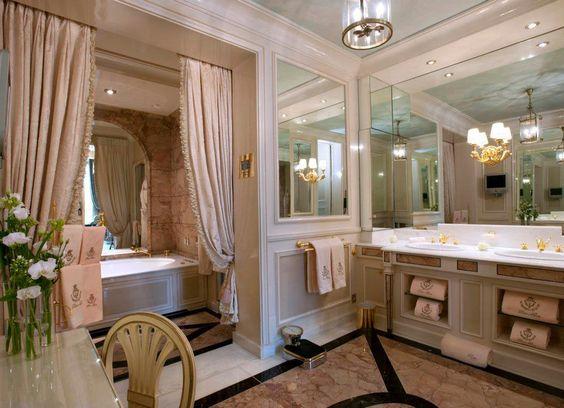 Paris  Hôtel Ritz  Style Baroque  Intérieurs  Salles