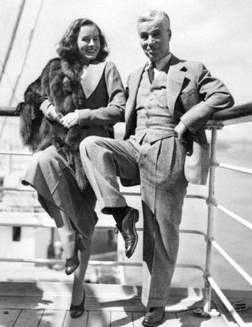 "Farran Nehme on Twitter: ""Paulette Goddard and Charlie Chaplin, having fun. https://t.co/rbqs9vPE7b"""