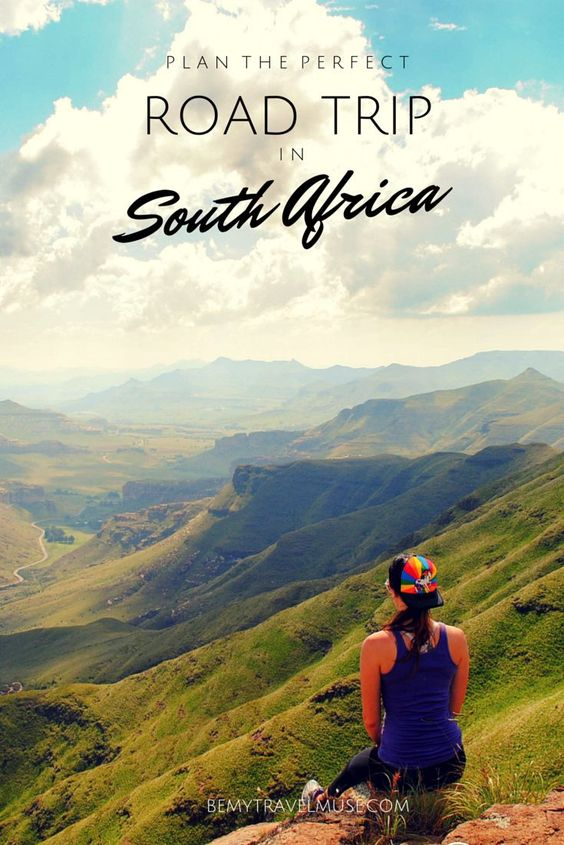 How to Plan the perfect road trip in South Africa #Roadtrip #SouthAfrica #Planification