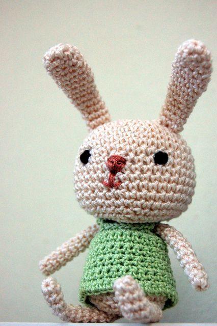 Amigurumi Cute Rabbit : cute rabbit amigurumi Amigurumi Pinterest Amigurumi ...
