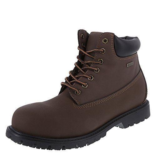 safeTstep Brown Men's Slip Resistant