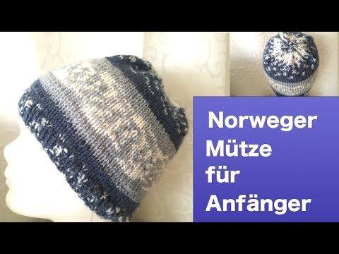 Pin von Lisa Zimmermann auf Mützen Hüte | Norwegermuster