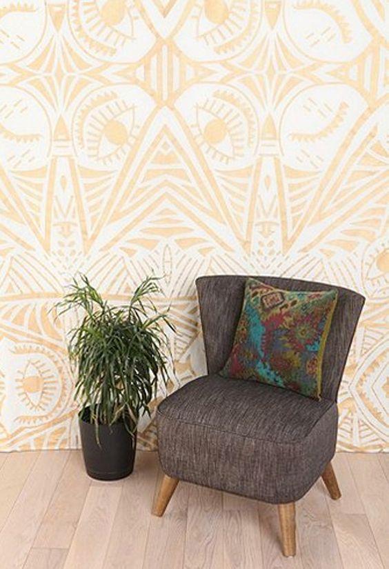 tapiz - parte de una redada de la pared que cubre las ideas para los inquilinos!  un montón de buenas ideas
