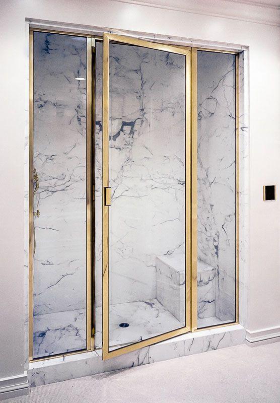 Brass Framed Shower Enclosures Image Gallery With Images