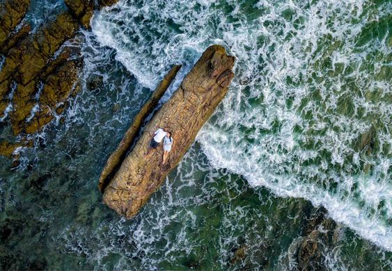Epic Drone Photography by Anoop.Photography. Specialised in Pre-wedding photography in Thailand