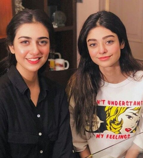 Gorgeous sisters sara and noor | Pakistani models, Pakistani actress, Sara  khan pakistani