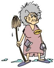 clip art cleaning lady | Main Page > clipart > Household > Cleaning > Page 2: