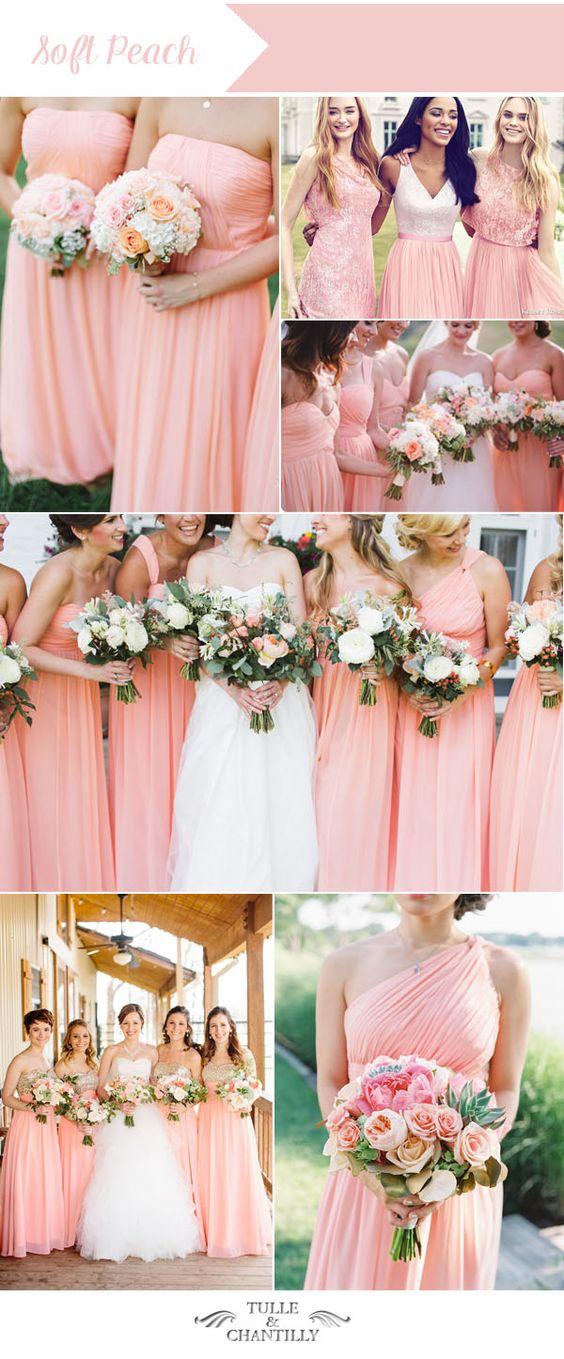 Fashionable Peach Summer Dress