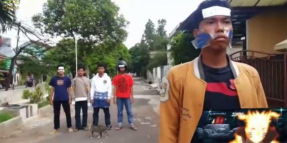 Abertura de Naruto Shippuden Versão Indonésia   Geek Project