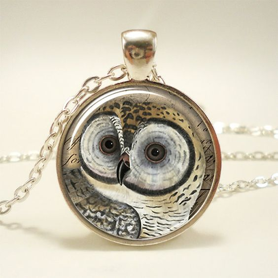 Owl+Necklace%2C+Woodland+Forest+Animal+Jewelry+%281638S1IN%29