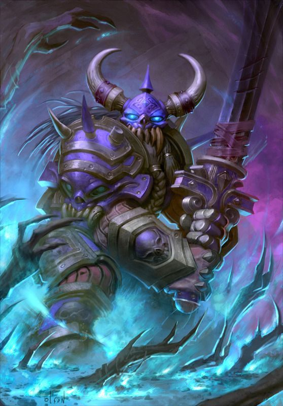 Warriors That Look To The Dark Prince Do So To Perfect Their Skill At Arms Into An Artful Perfo Hearthstone Heroes Of Warcraft Warcraft Art Hearthstone Artwork