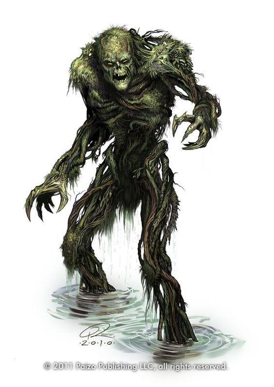 Pin by Dustin Yost on D&D 5e Pretty | Fantasy monster, Swamp ...
