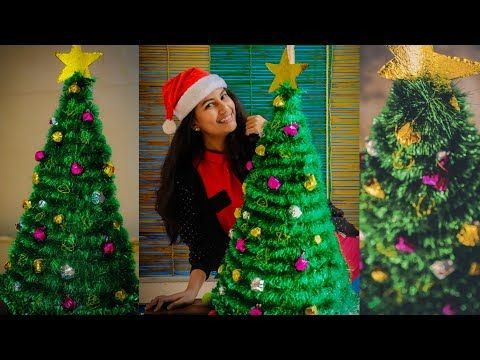 2 Christmastree Diy Diy Christmas Tree Easy Affordable Diy Youtube Diy Christmas Tree Simple Christmas Tree How To Make Christmas Tree