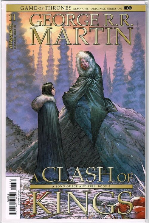 Game Of Thrones A Clash Of Kings 11 Cover A Nm 2018 Dynamite