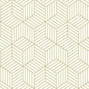 Roommates Stripped Hexagon Vinyl Peelable Wallpaper Covers 28 18 Sq Ft Rmk10704wp The Home Depot Peel And Stick Wallpaper Embossed Wallpaper Vinyl Wallpaper