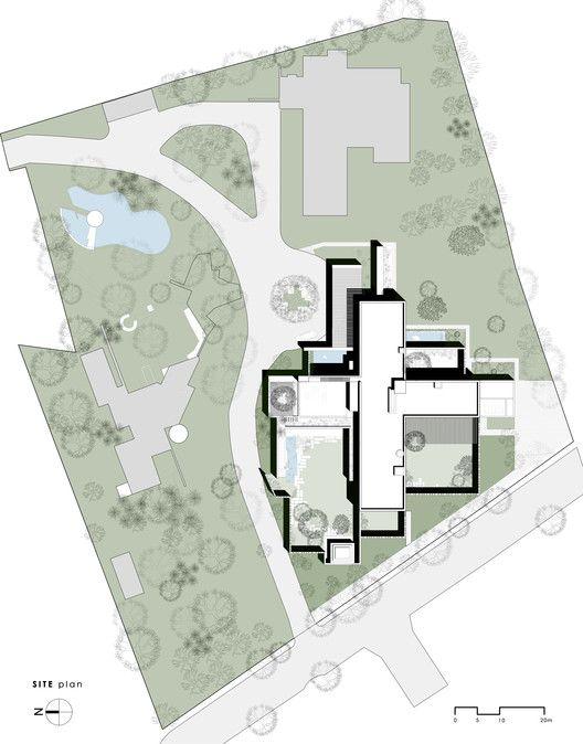 Gallery Of The House Of Secret Gardens Spasm Design 37 Jardín Secreto Láminas Arquitectónicas Edificios Sostenibles