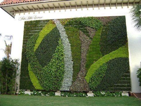 impresionantes jardines verticales curiosidades dogguie