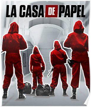 La Casa De Papel Poster Casas De Papel Las Casas De Papel
