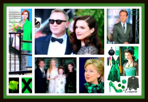 #CNG #RyanGosling's #Esmeralda #Gucci #DanielCraig #Evanora #BondGirl #EvaGreen #FM #MeatlessMonday #green #fashion