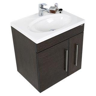Mueble flamma con lavamanos orbis mueble de lavamanos - Lavamanos para banos ...