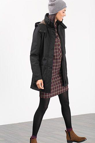 Esprit / Abrigo deportivo con forro acolchado