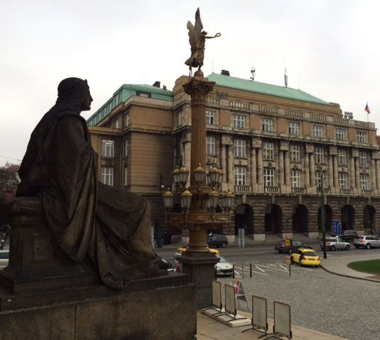 Faculty of philosophy, Charles University, Prague, Czechia