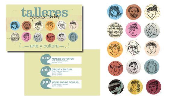 ILUSTRACIONES para sistema de identidad by Paula Ramos, via Behance