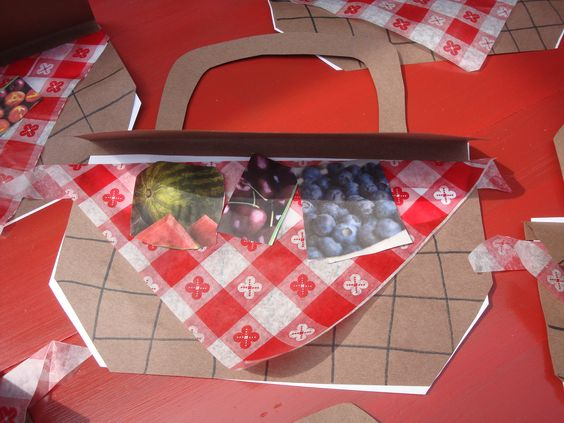 Picnic basket  Have students cut pictures from magazines of food they would like to take with them on a picnic.