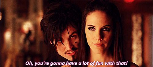 Lost Girl - Paul Amos as Vex and Anna Silk as Bo