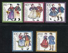 GERMANY 1993 TRADITIONAL COSTUMES-CULTURE/POPULAR/FOLK/BAVARIA/THURINGIA/HESSE