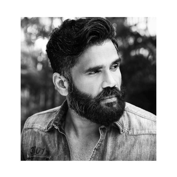 I mean ! Can we please take a moment to digest the ' #sunielshetty is so hot ' factor ! Haihukkuhaihukku hi hi  comment bellow with a sunil song ! Haha he really is one of the under rated ones ! I kind of fell in love with him when i re watched  his simmi aunty interview !  by thefilmyowl