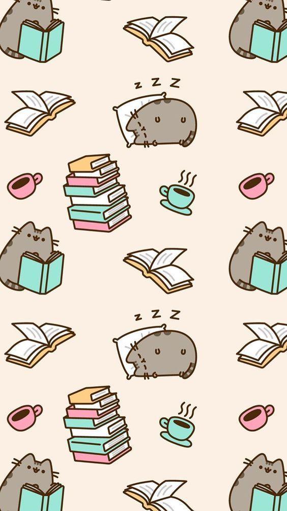 Cute Pusheen Cat Illustration Pusheen Cat Pusheen Cute Cute Wallpaper For Phone