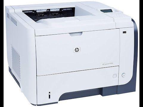 How To Print On Auto Both Side Of Paper Hp Laserjet P3011 P3015 Duplex Printing Duplex Hp P3015 Youtube Printer Laser Printer Office Printers