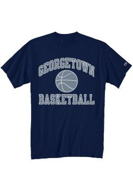 Georgetown University Basketball T-Shirt | Georgetown University - It's time to take your game to the next level with our large selection of basketball clothing and accessories. Pay a visit to: basketballgearonline.com