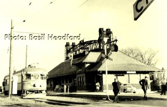 PORT COLBOURNE , Ontario - Niagara , St Catharines & Toronto Railway 1950s Headford c