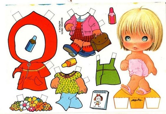 61* For lots of free Christmas paper dolls International Paper Doll Society #ArielleGabriel artist #ArtrA thanks to Pinterest paper doll & holiday collectors for sharing *