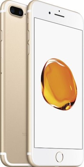 Apple - iPhone 7 Plus 256GB - Gold (Verizon Wireless) - Angle Zoom