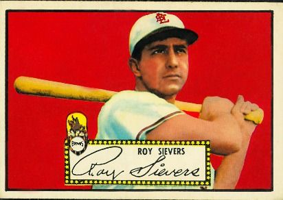Roy Sievers 1952 Third Base - St. Louis Browns  Card Number: 64  Series: Topps Series 1