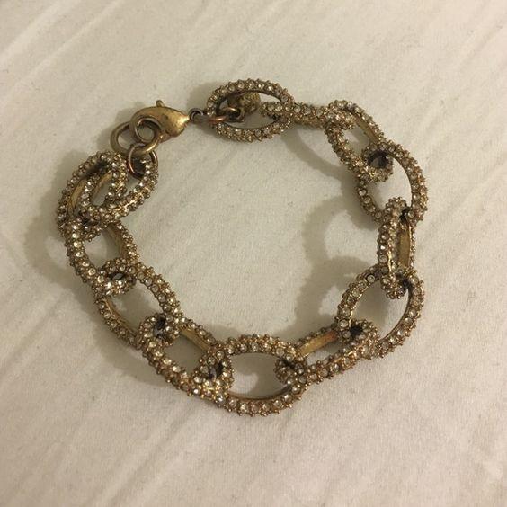 J.Crew Bracelet gold bracelet! super adorable J. Crew Jewelry Bracelets